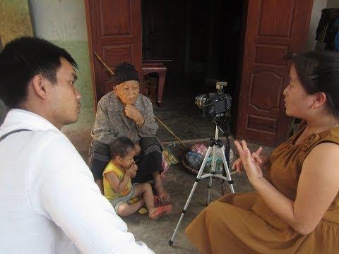 Stitching Our Stories: Hmong Medicine Woman (Kawm Thaub Duab), by Sia Yang