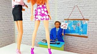 КТО СТАНЕТ СЕКРЕТАРЕМ В ШКОЛЕ ? На Работу в ШКОЛУ Барби - Играем в куклы