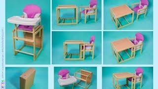 видео Детский столик со стульчиком