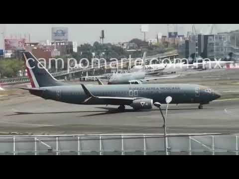 Fuerza Aérea ensaya para Desfile Militar 2020; despegue de jets Boeing 737 del Escuadrón 502