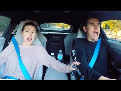 Girlfriend Reacts To BMW i8 Launch! **HILARIOUS REACTION**