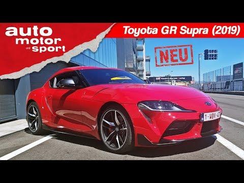 Toyota GR Supra (2019): Neue Legende oder BMW Z4-Abklatsch? Fahrbericht/Review)   auto motor & sport