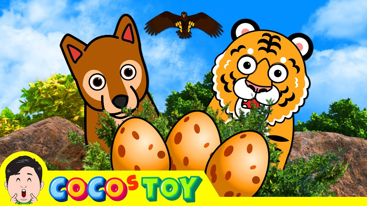 Curious baby tiger storyㅣanimals cartoon for childrenㅣCoCosToy
