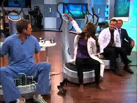 Power Plate Pro 5 on the Doctors