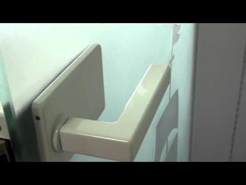 Стеклянная дверь матовая с пескоструйным рисунком, фурнитура и алюминиевая коробка белый глянец