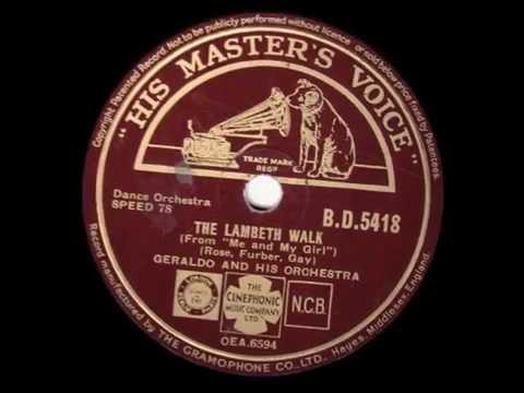 The Lambeth Walk - Geraldo & his Orchestra - 1938