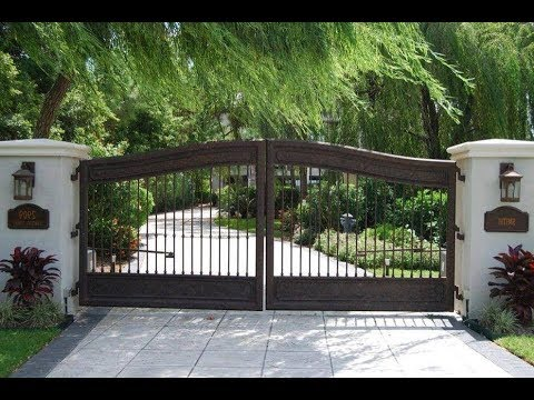 Amazing Home Gate & Wall & Gate Calums Design  20