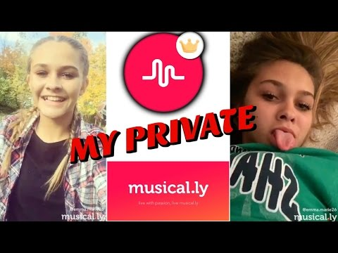 MY PRIVATE MUSICAL LY'S NEVER BEFORE SEEN | Emma Marie's World