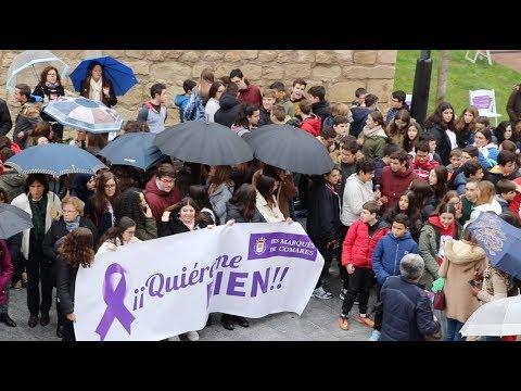 VÍDEO: Voces jóvenes contra la violencia de género en la Plaza de San Miguel.