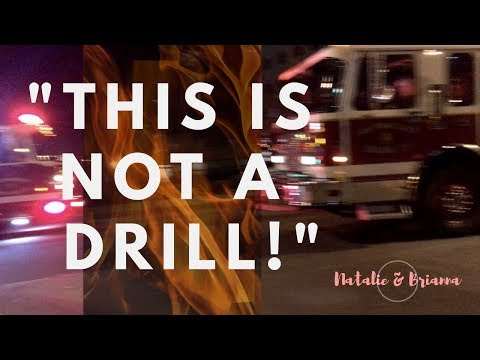fire set off in our building!!! (NOT CLICKBAIT)   Natalie & Brianna