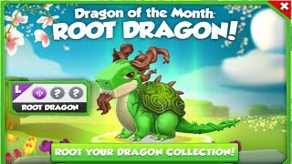 ROOT DRAGON! - Dragon of the Month: - Dragon Mania Legends | Part 821 HD