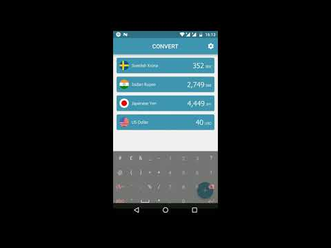 Travelrates Simple Offline Money Converter