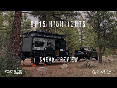 Go Off Road With the OPUS OP 15 Hybrid Caravan