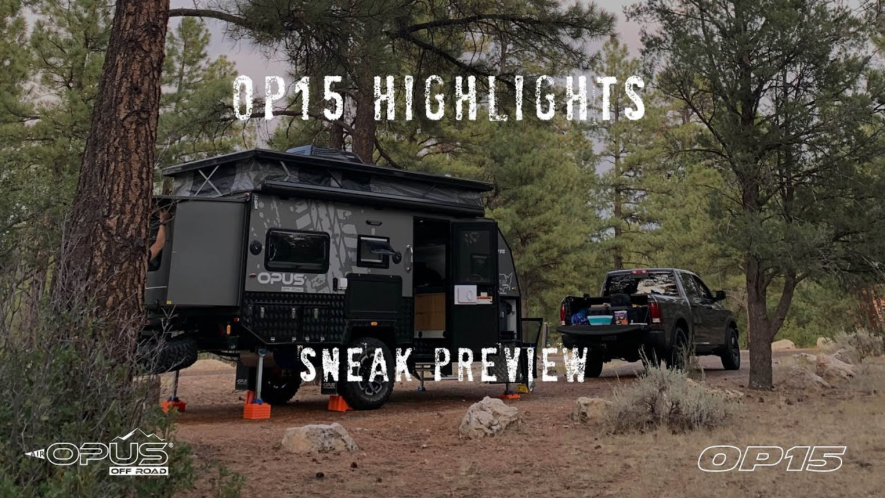 Go Off Road With The Opus Op 15 Hybrid Caravan Gearjunkie