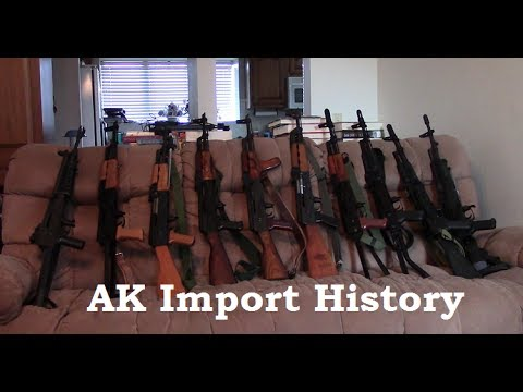 Import History Of Semi AK Rifles (1966-2017)