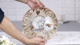 고급 크리스탈유리 북유럽 과일 보울 그릇 레트로 감성 …