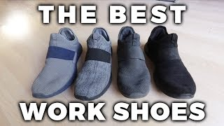 The Best Work Shoes For Carpet & Tile Cleaning Or Carpet Installation