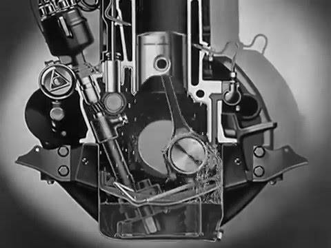 "Motor Oil: ""Riding the Film"" Educational video from 1937"