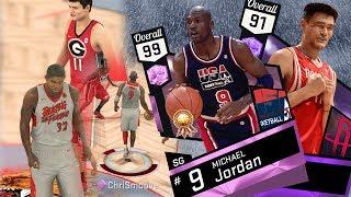 NBA 2K17 My Team - Pink Diamond MJ Goes Cold! PS4 Pro 4K thumbnail