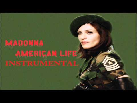 Madonna American Life (Instrumental Version)
