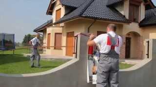 Podbitka dachowa domu - jak montować pokazuje fachowiec Profile VOX  +prezentacja produkty