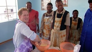 Prince Harry reveals how Africa changed his life
