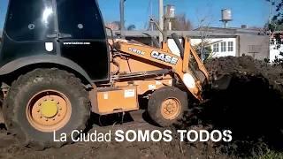 OBRAS PUBLICAS EN DISTINTOS PUNTOS DE LA CIUDAD.