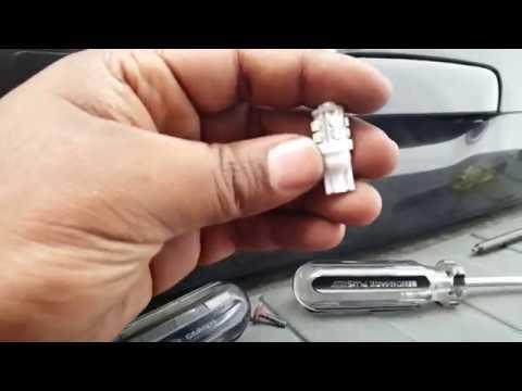02-09 Trailblazer - Change License Plate Bulb/LED upgrade ...
