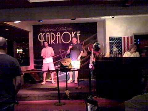 Justiin & Shawn Karaoke - Vegas 2008