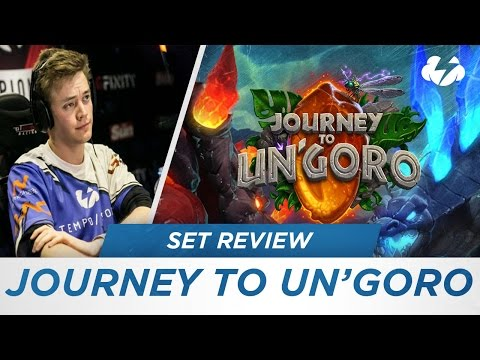 Reynad's Journey to Un'Goro set review! [Hearthstone]