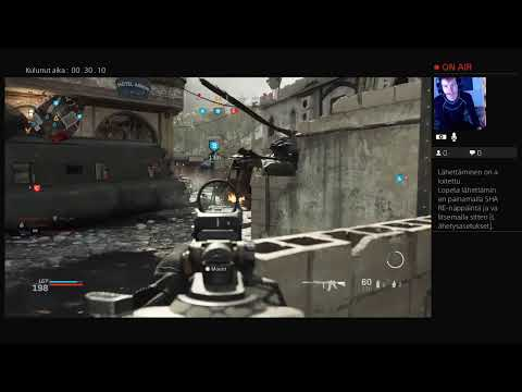 Käyttäjän Kaspaa2001 PS4-live-lähetys