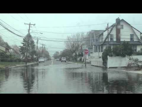 The Day After Sandy in Oceanside, NY