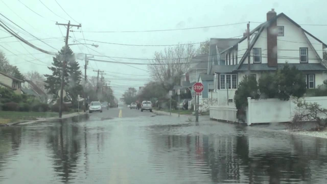 The Day After Sandy In Oceanside Ny Youtube