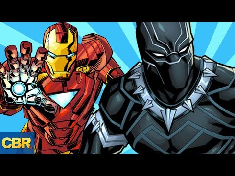 8 Things Black Panther And Iron Man Have In Common