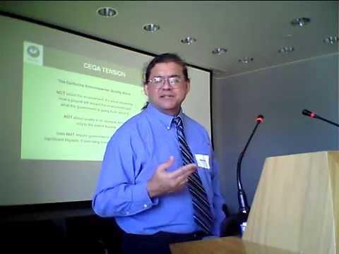 Grassroots Guide to CEQA-Government's prespective-David  Morrison