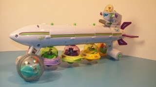 2001 DISNEY TOY STORY BUZZ LIGHTYEAR of STAR COMMAND SET OF 6 McDONALD'S HAPPY MEAL TOY'S REVIEW