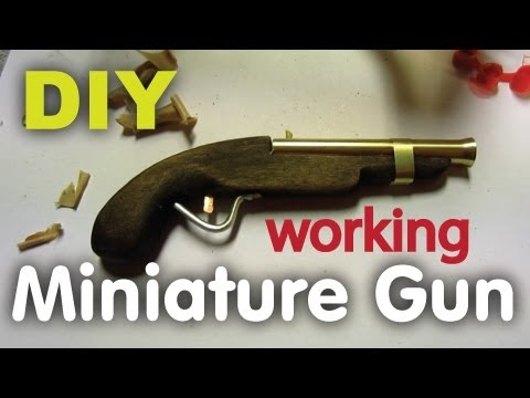 DIY Miniature Handgun