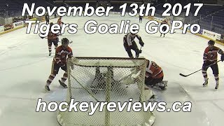 November 13th 2017 Tigers Hockey Goalie GoPro