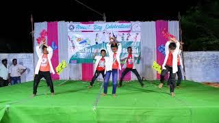 rechipodam brother dance by Sri Aradhya High School