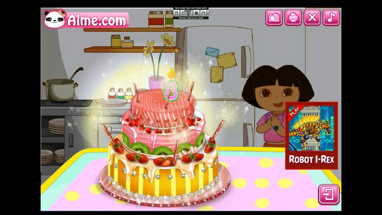 cake decoration games for kids the explorer make cake decorating 11963