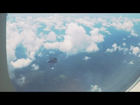 Strange UFO caught on cam from airplane in FLORIDA - USA !!! May 2018