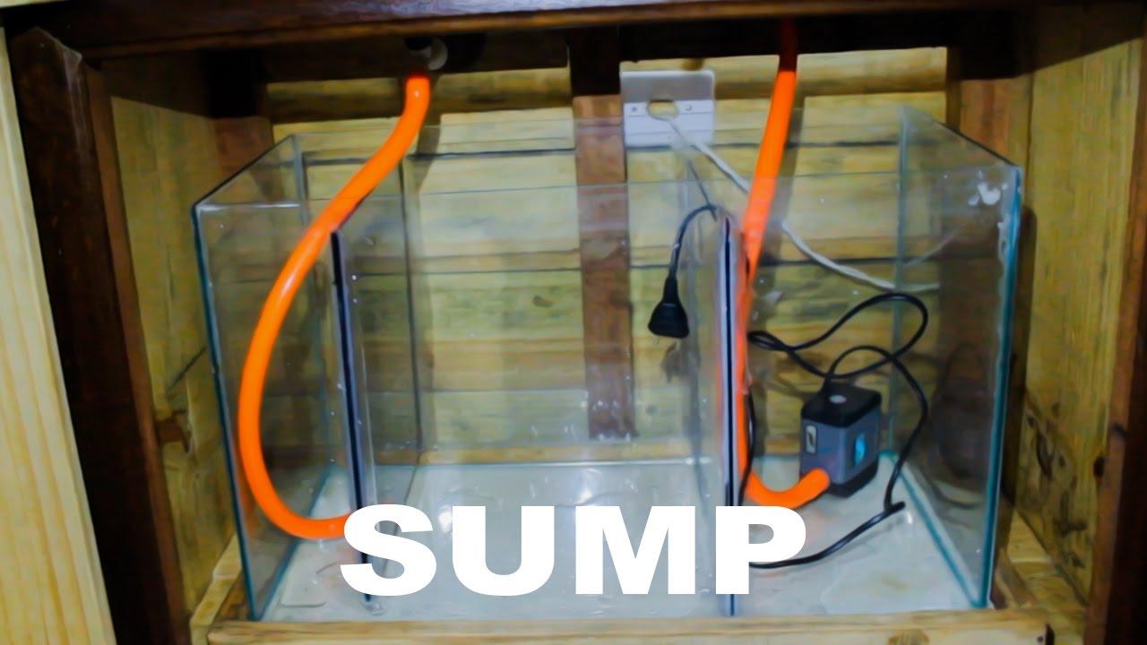 Montando Aquário Jumbo - 1°Parte (Sump)