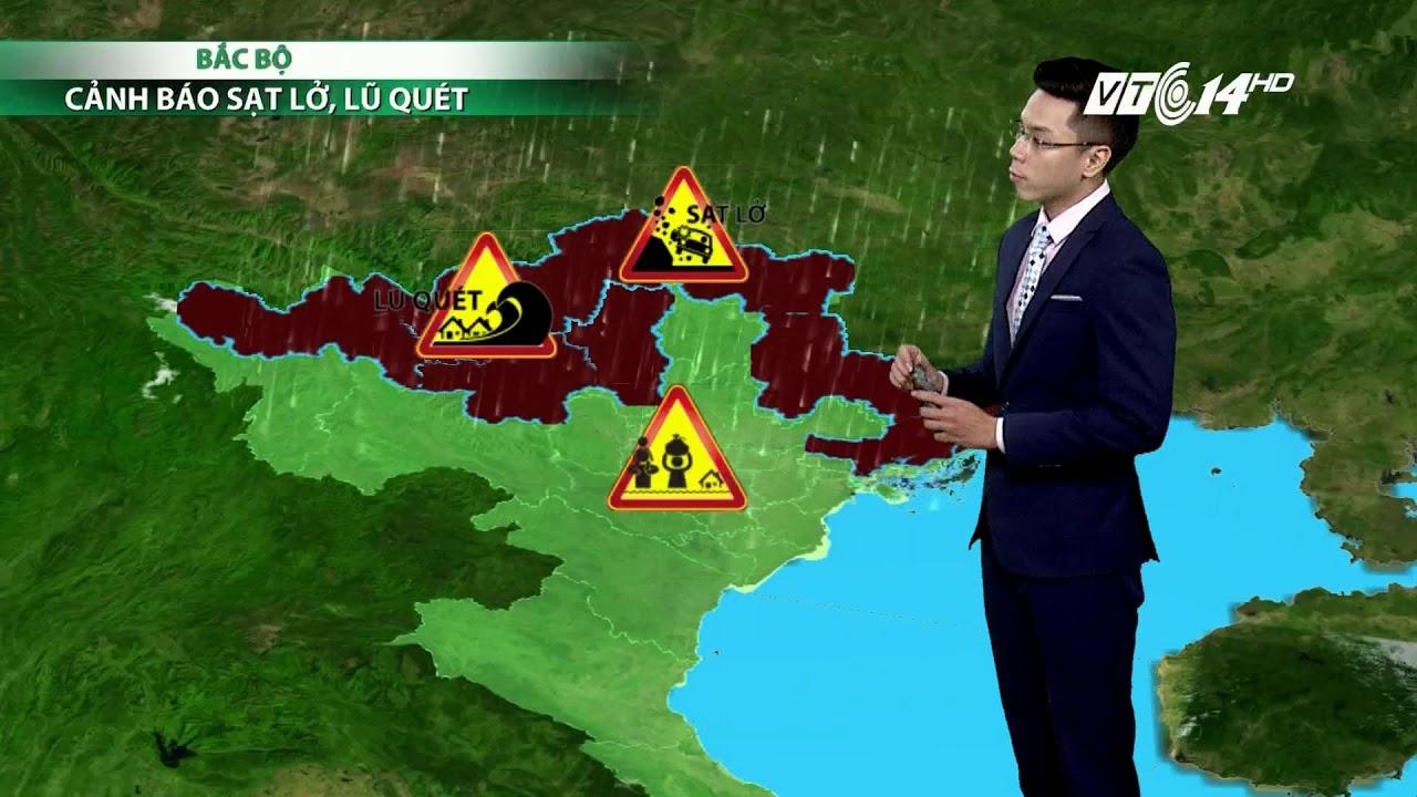 VTC14 | Thời tiết 6h ngày 24/08/2017 | bản tin dự báo thời tiết hôm nay | bão Hato