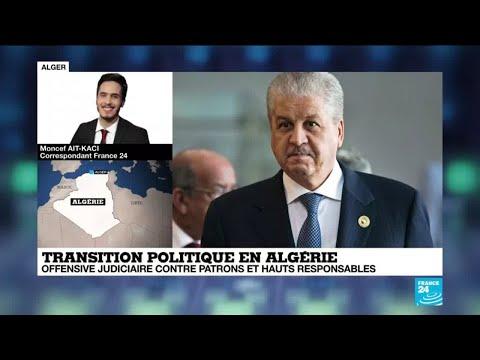 Algérie : l'ancien Premier ministre Abdelmalek Sellal placé en détention provisoire