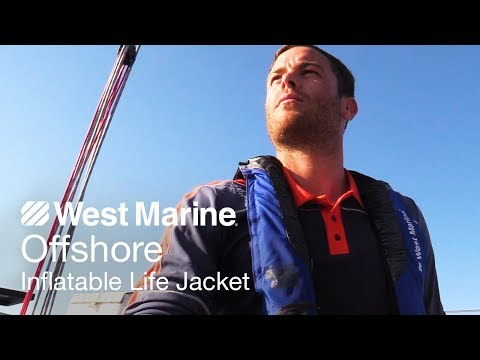Offshore Automatic Inflatable Life Jacket with Harness - West Marine Quick Look