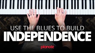 Build Hand Independence With The Blues (Piano lesson)