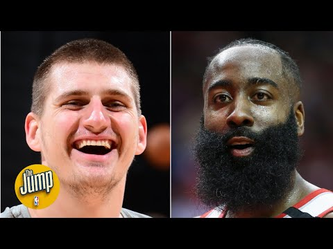 Nikola Jokic flopped so hard, James Harden was complaining about it  The Jump
