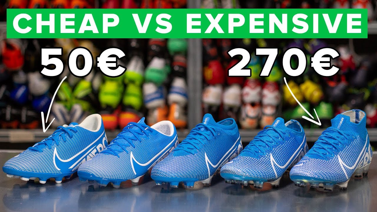 the best attitude f1bab 7c4ef CHEAP vs EXPENSIVE - All Nike Mercurial boots explained: Elite, Pro,  Academy or Club