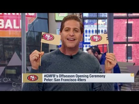 Peter Schrager Starts the San Francisco 49ers Hype Train