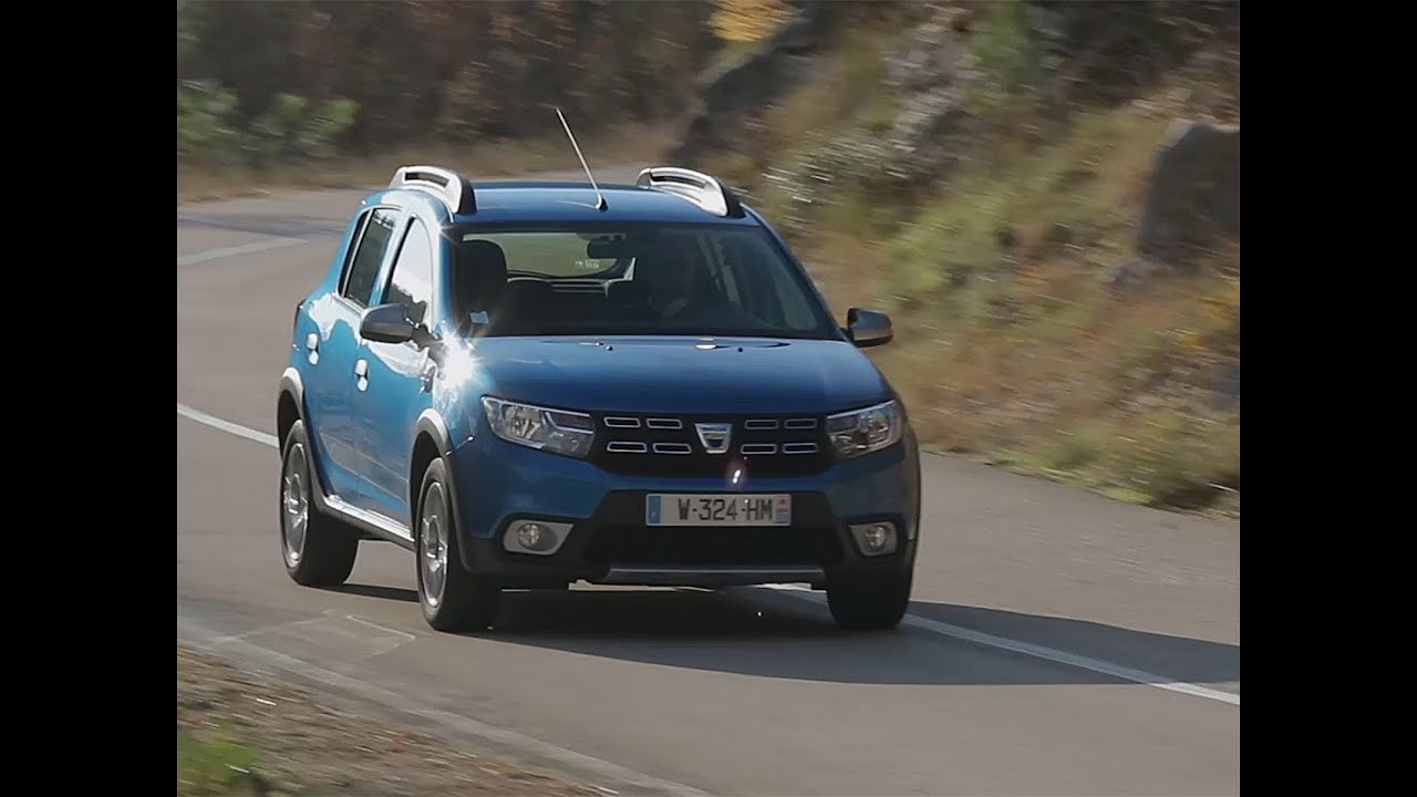 essai dacia sandero stepway tce 90 2016 youtube. Black Bedroom Furniture Sets. Home Design Ideas